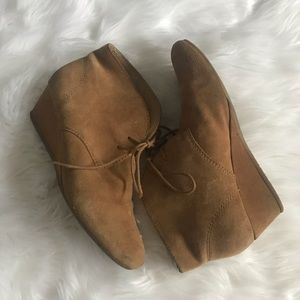 Nine West Moccasin Style Ankle Booties